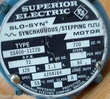 Superior Electric Slo-Syn Synchronous/Stepping Motor SS400-1122U