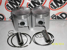 SUZUKI GT250 GT250X7 PISTON KITS (2) NEW PARTS STD 54mm