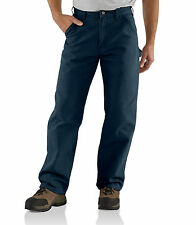 CARHARTT WASHED DUCK WORK DUNGAREE (44x32) MENS PANT
