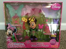 Disney Minnie Mouse Fairy Bow-tique Doll Snap-On Outfits Fashion Set NEW