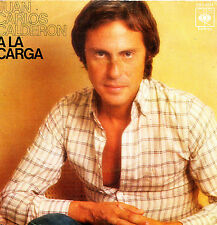 JUAN CARLOS CALDERON - A LA CARGA + FUGA Nº 2 SINGLE VINYL SPAIN 1976 EXCELLENT