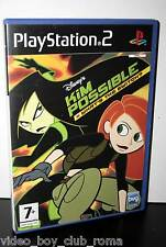 DISNEY KIM POSSIBLE WHAT'S THE SWITCH? GIOCO USATO OTTIMO STATO SONY PS2 ED ITA