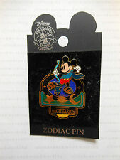 Disney Signs Of The Zodiac SAGITTARIUS / DECEMBER Mickey Mouse Cupid Angel Pin