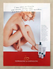 B280-Advertising Pubblicità-1999 - GERMAINE DE CAPUCCINI