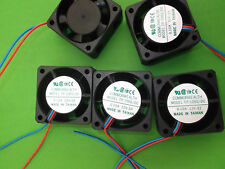 Fan 12 Vdc 40mm 12 Volts Fans Cooling 40x40x20mm Wires FP108G/DC12VS2S x3pcs ONO