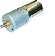 12VDC 4mm Shaft Dia Synchronous Reduction DC Gearbox Geared Motor 1500RPM