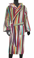 MISSONI HOME VELOUR ROMY 159 BATHROBE SMALL 100% COTTON DRESSING GOWN AFTER SHOW