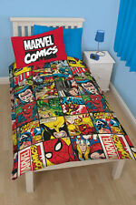 Marvel's The Defenders Comic Bettwäsche Bettgarnitur Kinder Set Kids 135x200 neu