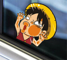 Anime One Piece Monkey·D·Luffy Car Sticker Window Auto Decal Wall