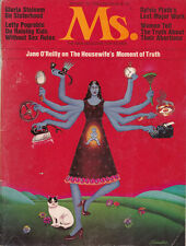 """SYLVIA PLATH'S """"THREE WOMEN"""" in Spring 1972 MS. Magazine - PREVIEW ISSUE of MS."""