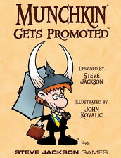 Munchkin Gets Promoted & Promo Bookmark John Kovalic Art Steve Jackson Games