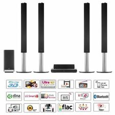 LG BH9540TW 9.1 Smart 3D Home Cinema System 1460 Watt - Black / Silver