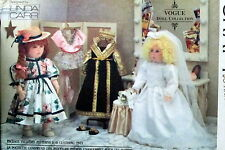 "VOGUE Linda Carr 18"" doll clothes dress sewing pattern wedding gown Ballerina"