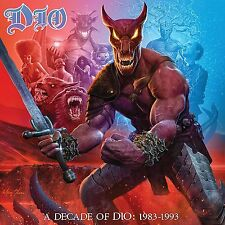 "Dio A DECADE OF DIO: 1983-1993 180g REMASTERED New Vinyl 6 LP + 7"" Box Set"