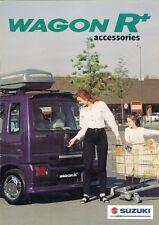 SUZUKI WAGON R + ACCESSORI 1997-1998 Regno Unito delle vendite sul mercato opuscolo