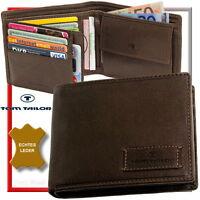 TOM TAILOR Herren Geldbörse (brown) Geldbeutel Portemonnaie Börse Geldtasche NEU