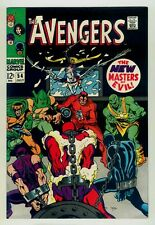 Avengers #54 NM+ 9.6 OW pages 1968 Marvel Silver age Ultron-5