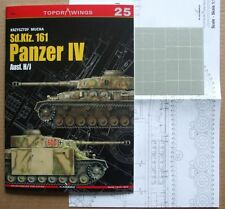 Sd.Kfz. 161 Panzer IV Ausf. H/J TopDrawings, KAGERO + Mask Foil
