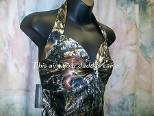 Made in the USA CAMO Prom Wedding Bridesmaids Dress Halter Style 'Emily'