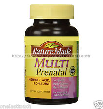 NATURE MADE* Dietary Supplement MULTI PRENATAL 30 Tablets FOLIC ACID Exp. 12/17