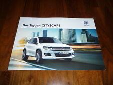 VW Tiguan CITYSCAPE Prospekt 02/2014