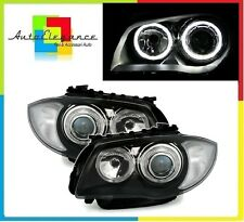 Fari anteriori angel eyes LED BIANCHI  BMW serie 1  E87