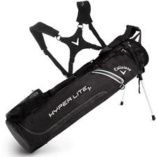 CALLAWAY HYPER LITE 1+ PLUS DUAL STRAP GOLF STAND PENCIL CARRY BAG / GOLF BAG