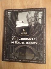 SIGNED x 4 The Chronicles of Harris Burdick Chris Van Allsburg + Pic Maguire