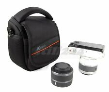 Nikon S01 Camera Bag Case Shoulder Strap Memory Card Mobile Card Pocket