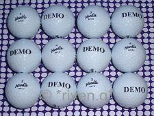 MAXFLI GOLF BALLS x 12@NOODLE@DAD@HUSBAND GIFT@PERFECT Quality@DEMO SPIN balls