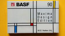 1x BASF MAXIMA DESIGN EDITION no.1  90min. Cassette Tape 1991 + NEW & SEALED +