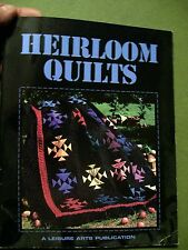 HEIRLOOM QUILTS 1997 SOFT COVER A LEISURE ARTS PUBLICATION
