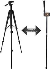 "68"" Must Have Pro Convertible Tripod/Monopod for SONY HDR-CX7 DCR-SR200 DCR-HC96"