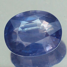 3.60CT CERTIFIED AA UNHEATED BLUE OVAL SAPPHIRE NATURAL