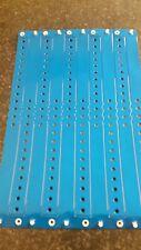 """500  3/4"""" BLUE  VINYL WRISTBANDS ,BLUE PLASTIC ARM BANDS"""