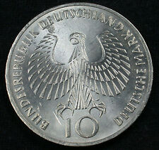 "1972 J 10 DM Munich Olympics 62.5% Silver Commemorative ""Flame"" Design"