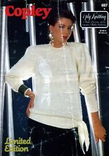 VINTAGE COPLEY 697 Knitting Pattern-DONNA/WOMAN Bird of Paradise SWEATER 32