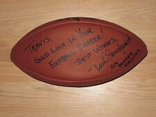 2002-2007 Denver Broncos General Manager Ted Sundquist Signed Football/Free SH!