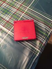 Nintendo Game Boy Advance SP Flame Red Handheld System