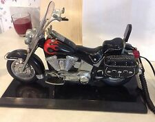 Harley Davidson Heritage Motorcycle Telephone Novelty Phone Flame Model(Softail)