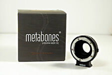 Metabones Nikon F/G to BMPCC Speed Booster - Blackmagic Pocket Cinema Camera