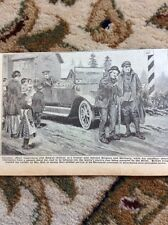 M5-2 Ephemera 1918 Picture Canadian Officer German Belgium Frontier