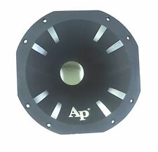 "Audiopipe 7.75"" Octagon High Frequency Aluminum Horn for 2"" Bolt On Exit Drivers"