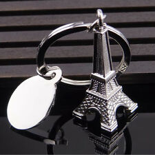1pcs Zinc Alloy Eiffel Tower French Souvenir Paris Keychain Keyring Key Chain