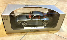 1:18 NOREV PORSCHE 997 911 TURBO GREY METALLIC VERY RARE Dealer Edition NEW