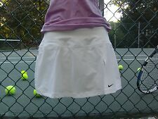 Ladies Tennis Skirt ~ NIKE Tie Break Skirt / Skort ~ S ~ White ~ NEW with Tags