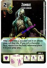 060 ZOMBIE Lesser Undead -Common- BATTLE FOR FAERUN - D&D Dice Masters
