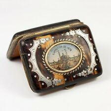 Antique French Souvenir Coin Purse, 1878 Paris Exposition, Chateau'Eau, Palais