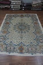 Beautiful Design Antique Light Kashmar Persian Rug Oriental Area Carpet 10X13