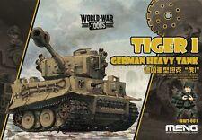 Meng World War Toons German Heavy Tank Tiger I Q Edition Plastic Kit #WWT001